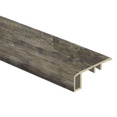 Restored Wood/Night Sky 7/16 in. Thick x 1-3/4 in. Wide x 72 in. Length Vinyl Carpet Reducer Molding