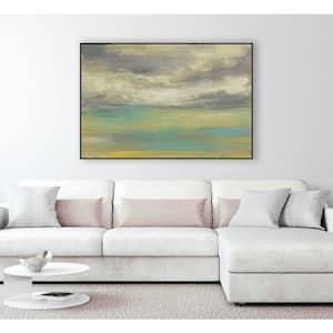 30 in. x 40 in. ''Sunset Study VIII'' by Jennifer Goldberger Framed Wall Art