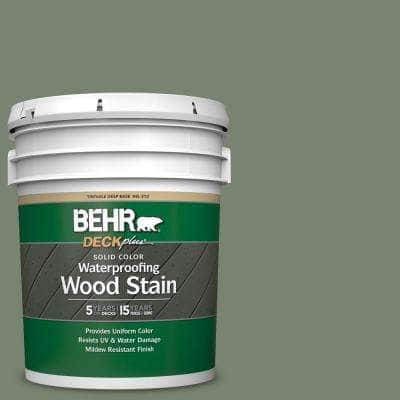 5 gal. #ICC-77 Sage Green Solid Color Waterproofing Exterior Wood Stain
