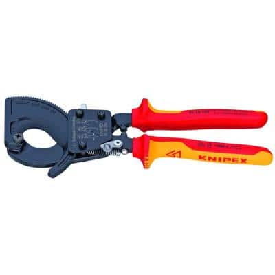 10 in. Ratcheting Cutters with Comfort Grip