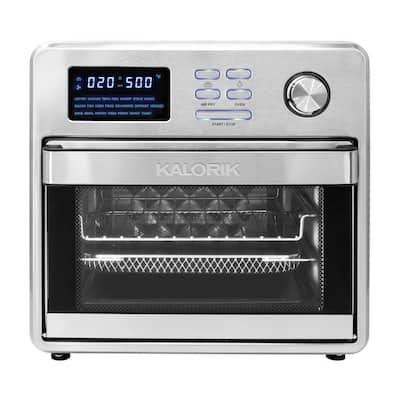 MAXX 16 qt. Stainless Steel Digital Air Fryer Oven
