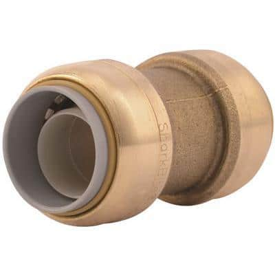 1/2 in. Brass Push-to-Connect Polybutylene Conversion Coupling