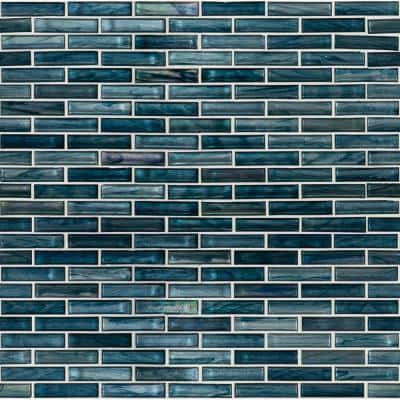 Oasis Blast 12 in. x 12 in. x 6mm Glass Mesh-Mounted Mosaic Tile (1 sq. ft.)