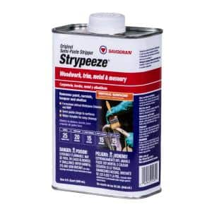 Strypeeze Qt Semi-Paste All Purpose Stripper without Methylene Chloride and NMP