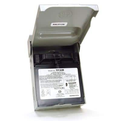30 Amp 120/240-Volt 240-Watt Fused AC Disconnect