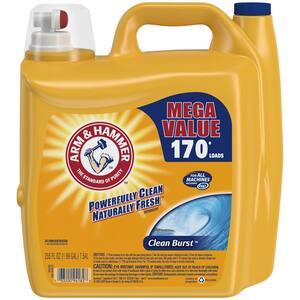 255 oz. HE Clean Burst Liquid Laundry Detergent