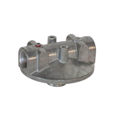 1 in. NPT Inlet and Outlet Utility Accessory Aluminum Filter Head