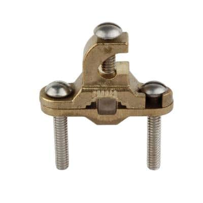 3/8 in. to 1 in. Bronze Ground Clamp with Lay-in Lug