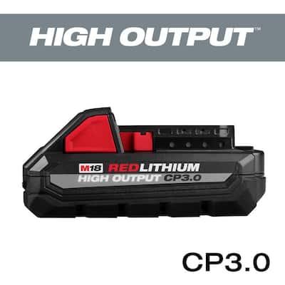 M18 18-Volt Lithium-Ion HIGH OUTPUT CP 3.0 Ah Battery Pack