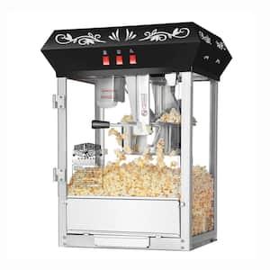 Foundation 6 oz. Black Countertop Popcorn Machine