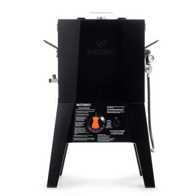 16 Quart Propane Fryer with Thermostat Control in Black