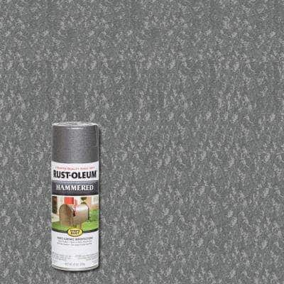 12 oz. Hammered Gray Protective Spray Paint