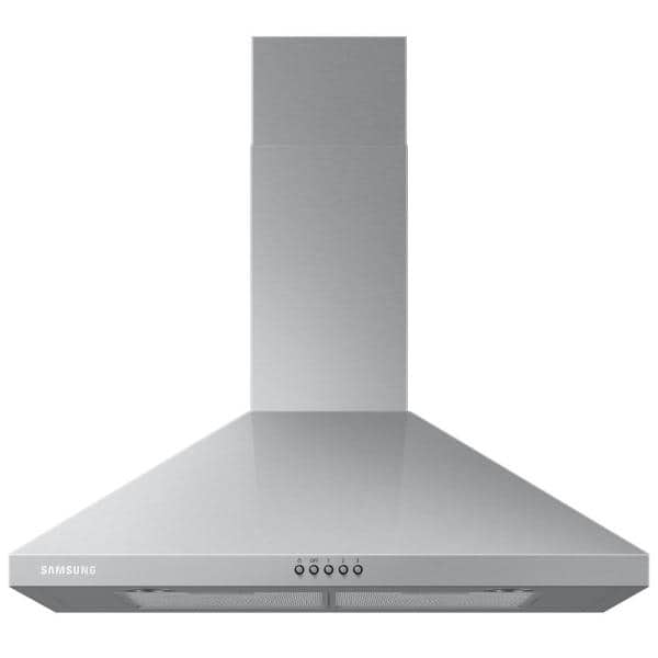 Samsung 30 In Wall Mount Range Hood With Led Lighting In Stainless Steel Nk30r5000ws The Home Depot