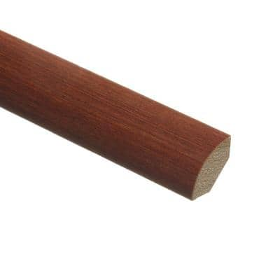 Bamboo Seneca 3/4 in. Thick x 3/4 in. Wide x 94 in. Length Hardwood Quarter Round Molding
