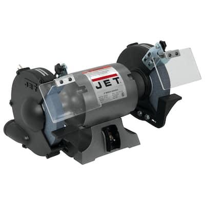 115-Volt 1 HP 8 in. Industrial Metalworking Bench Grinder, JBG-8A