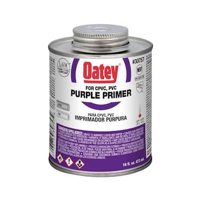 16 oz. Purple CPVC and PVC Primer