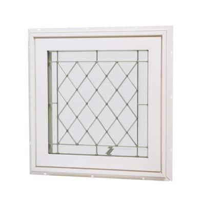 24 in. x 24 in. Awning Vinyl Window - White