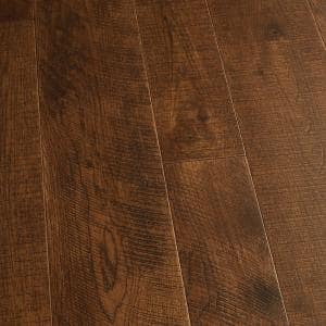 Hickory Sunset 1/2 in. Thick x 5 in. and 7 in. Wide x Varying Length Engineered Hardwood Flooring (24.93 sq. ft./case)