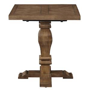 Eldridge - Pedestal End Table In Haze