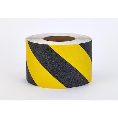 4 in. x 20 yds. Non-Skid Hazard Stripe Grip Tape
