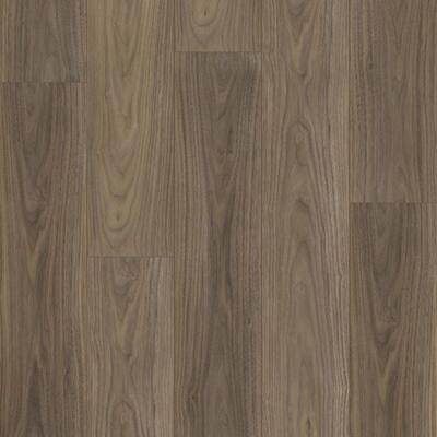 McKinney Walnut 7.20 in. W x 42 in. L SPC Waterproof Vinyl Plank Flooring (25.20 sq. ft./Case)