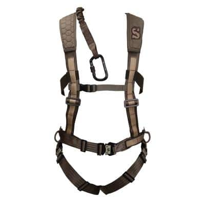 SU83081 300 lbs. Maximum Hunting Sport Treestand Safety Pro Harness, Medium