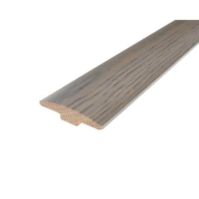 Solid Hardwood Typica 0.28 in. T x 2 in. W x 78 in. L T-Mold
