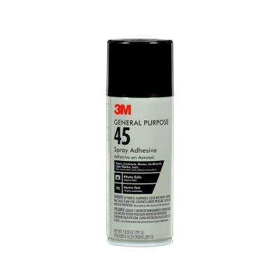 10.25 oz. General Purpose 45 Spray Adhesive