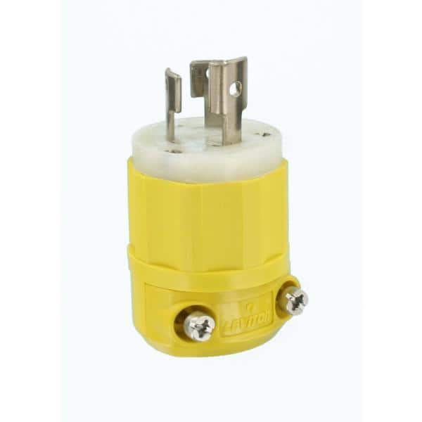 Assorted Brands NEMA L5-15 125V 15 Amp 3W 2P Twist Lock Male Plug