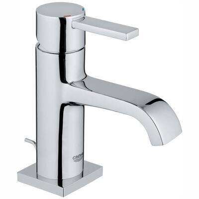 Allure Single Hole Single-Handle 1.2 GPM Bathroom Faucet in StarLight Chrome