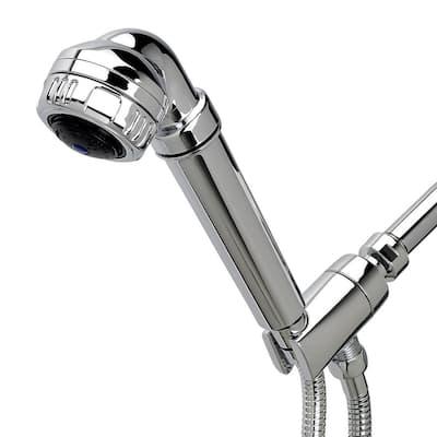 Original 3-Spray 2.5 GPM Handheld Shower Filter System in Chrome