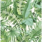 Green Vinyl Peel & Stick Washable Wallpaper Roll (Covers 30.75 Sq. Ft.)