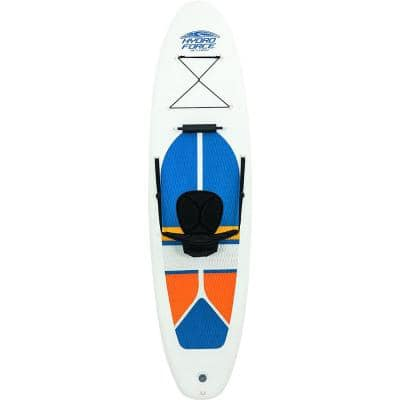 Hydro-Force White Cap Inflatable SUP Stand Up Paddle Board (4 Pack)