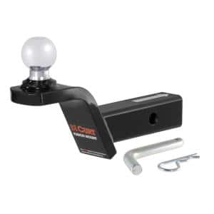 Fusion Ball Mount with 2'' Ball (2'' Shank, 7,500 lbs., 2'' Rise)
