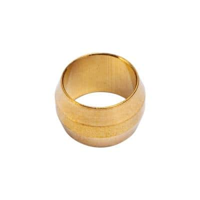 5/16 in. Brass Compression Sleeve Fittings (50-Pack)