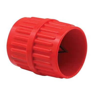 1/8 in. - 1-5/8 in. Diameter Pipe and Tubing Reamer, Red
