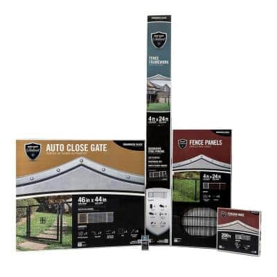 4 ft. x 144 ft. Complete Welded Wire Fence Kit
