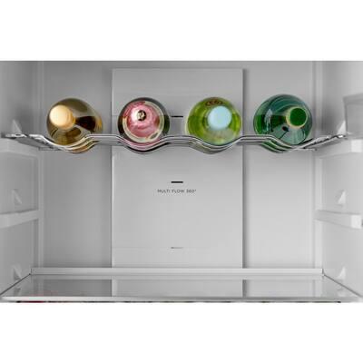 12 cu. ft. Retro Frost Free Bottom Freezer Refrigerator in Bordeaux