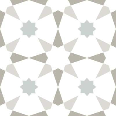 Take Home Sample - 6 in. W x 6 in. L Multi-Color Stellar Peel and Stick Vinyl Tiles
