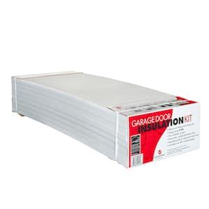 Garage Door Insulation Kit (8 Reflective/White Panels)