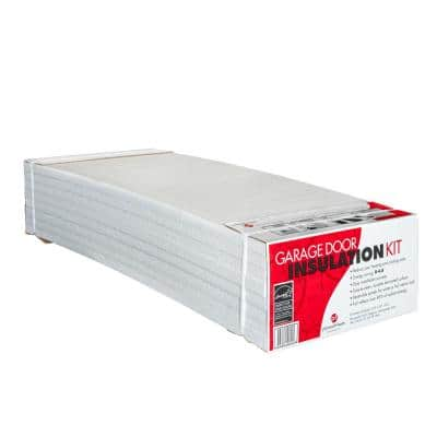 Garage Door Insulation Kit (8 Reflective/White Panels)