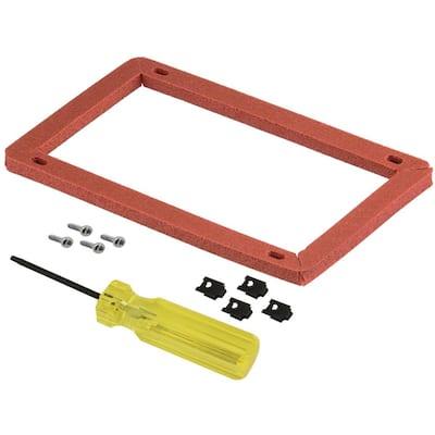 Burner Access Door Gasket Replacement Kit for Gas Water Heaters