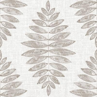 Take Home Sample - 6 in. W x 6 in. L Neutral Foliage Peel and Stick Vinyl Tiles