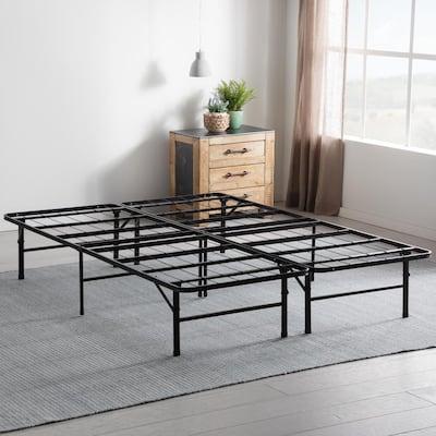 14 in. Full Folding Platform Bed Frame
