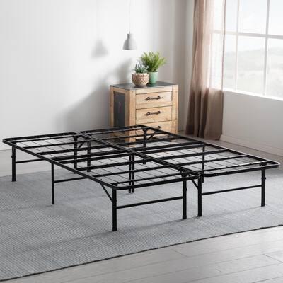 14 in. Queen Folding Platform Bed Frame
