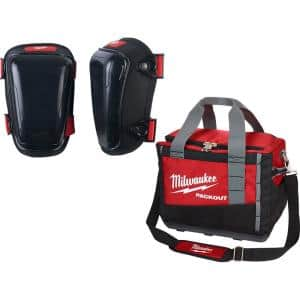 Hard Gel Knee Pads with PACKOUT Tool Bag