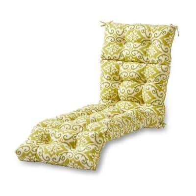 Shoreham Ikat Outdoor Chaise Lounge Cushion