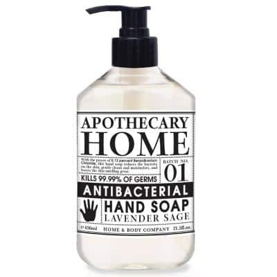 21.5 oz. Lavender Sage Home Apothecary Antibacterial Hand Soap