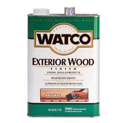 1 gal. Natural 350 VOC Oil Wood Finish (2-Pack)