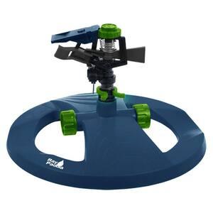 Plastic Pulsating Sprinkler on In-Series Circle Base